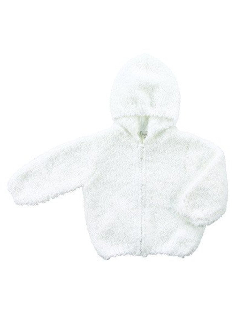 Chenille Jacket in White