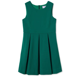 Arden Ponte Dress in Cadium Green