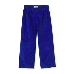Myles Pant Wide Wale Corduroy in Bright Blue