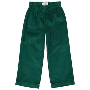 Myles Pant Wide Wale Corduroy in Cadium Green