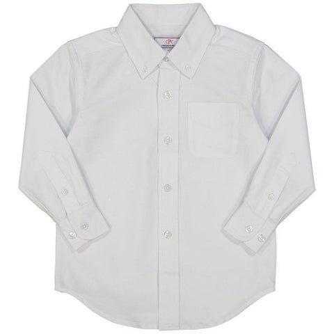 Owen Oxford Button Down in White