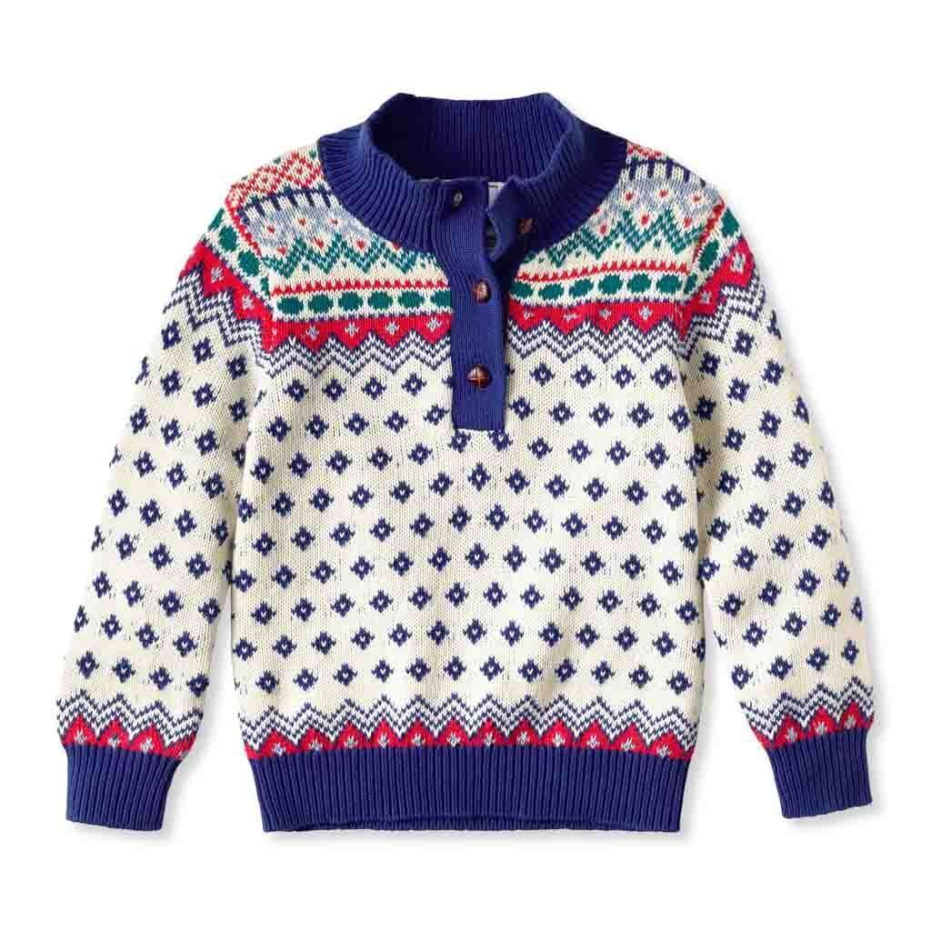 Scott Fair Isle Sweater