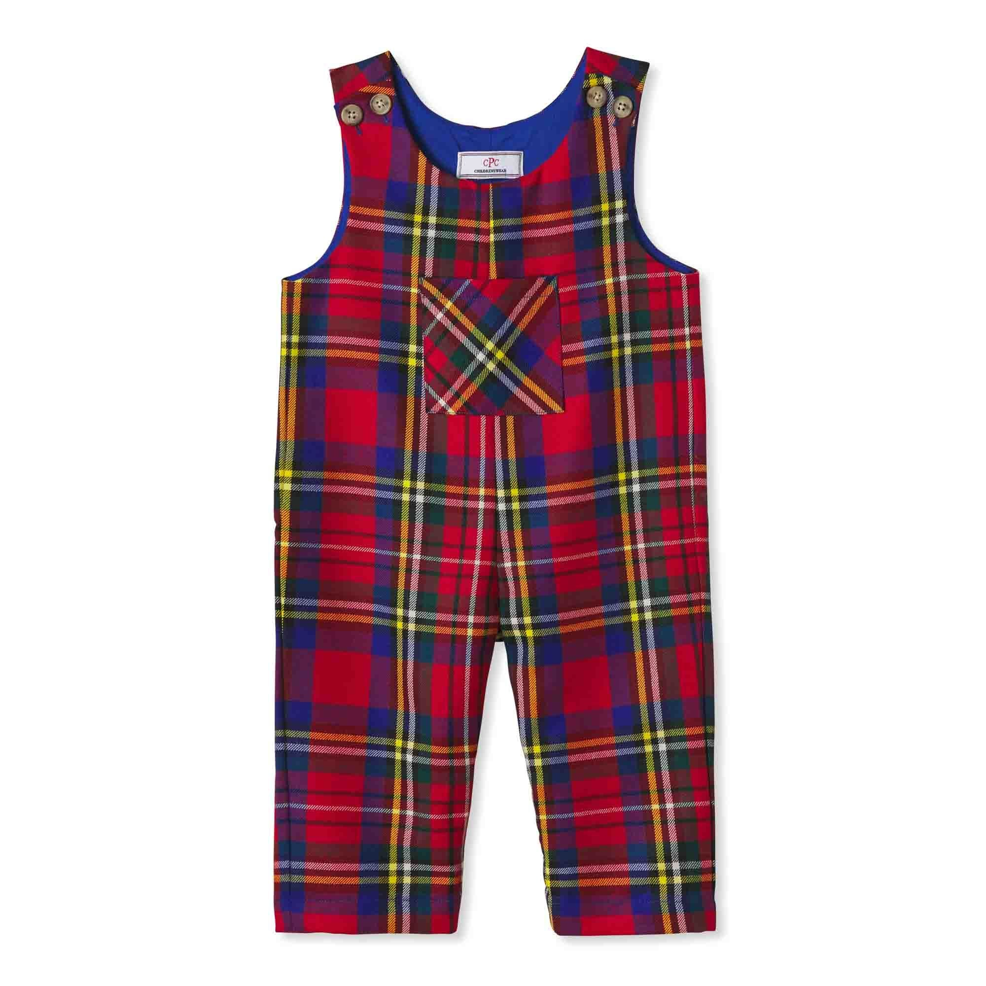 Boys Tucker Overall in Drysdale Tartan