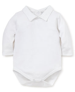 Pima Cotton Peter Pan Collar Bodysuit