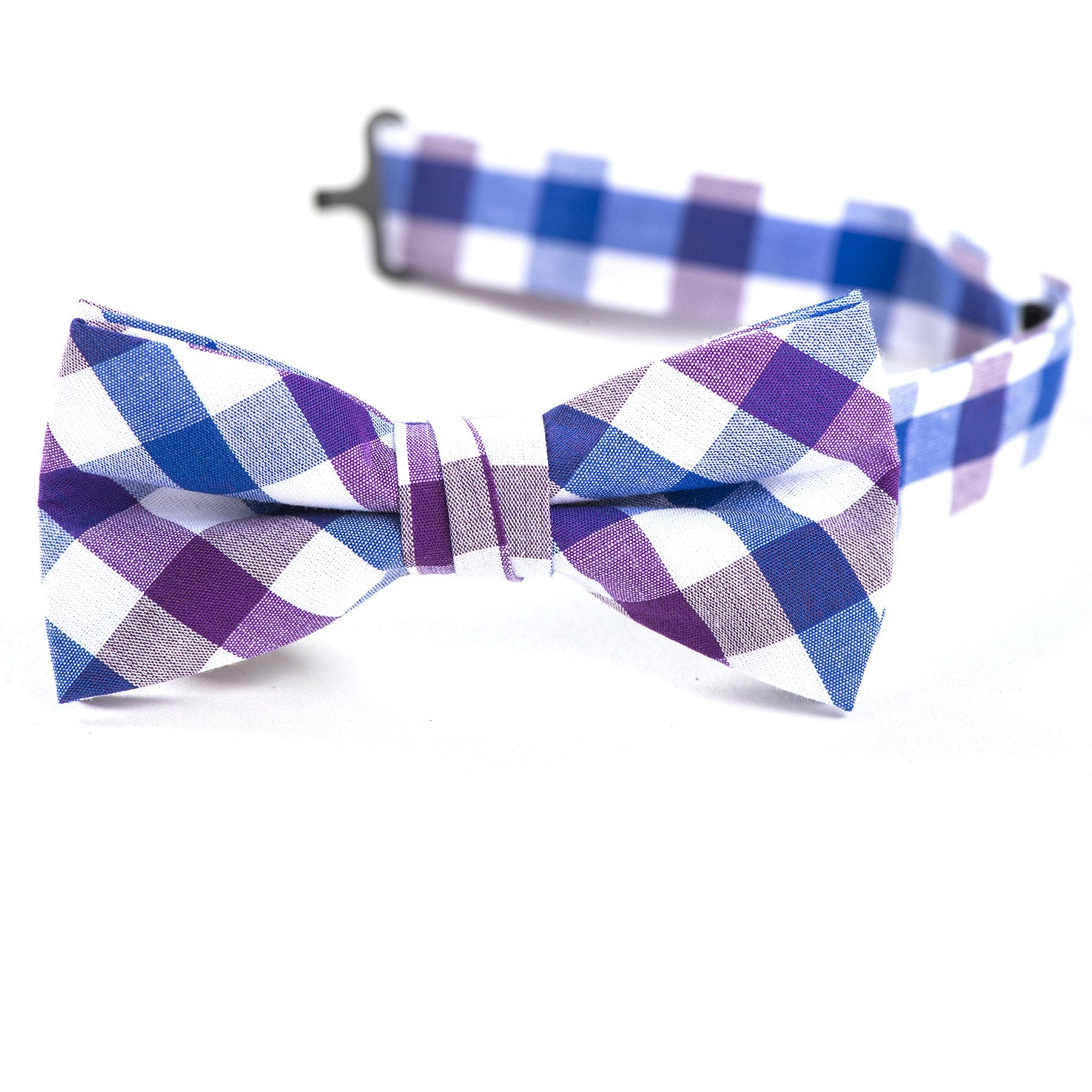 Essex Plaid Bow Tie