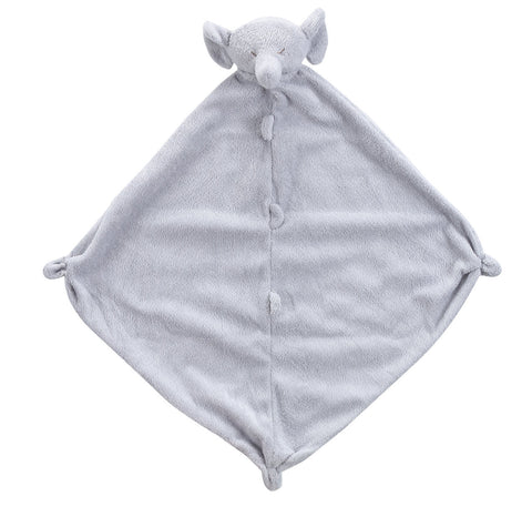 Angel Dear Lovey Blankie - Grey Elephant