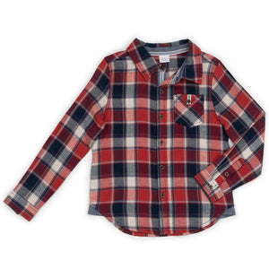 Flannel Plaid Maverick Shirt