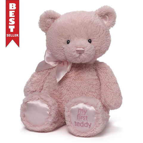 "My First Teddy 15"" in Pink"