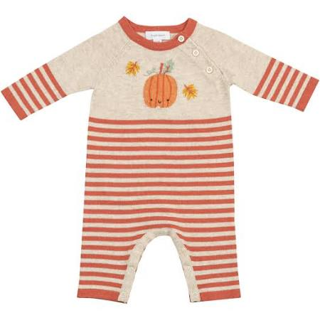 Pumpkin Knit Coverall