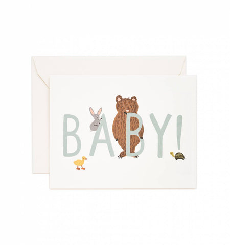 New Baby Card in Mint