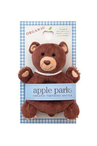 Soft Teething Toy Cubby Rattle by Apple Park