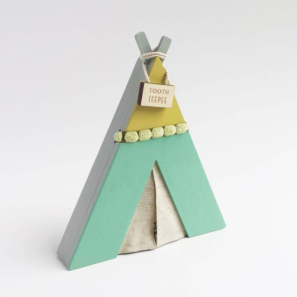 Tooth Teepee in Green