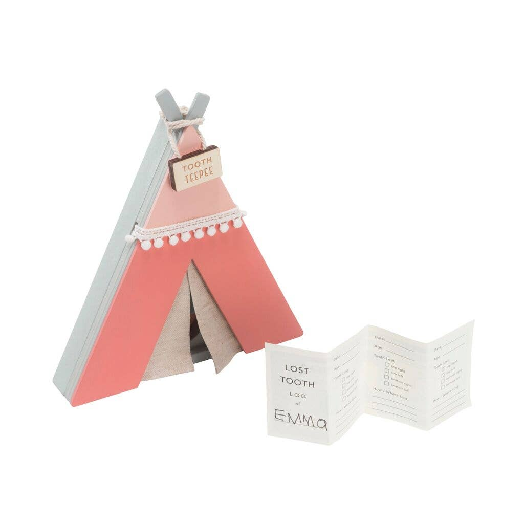 Tooth Teepee in Pink