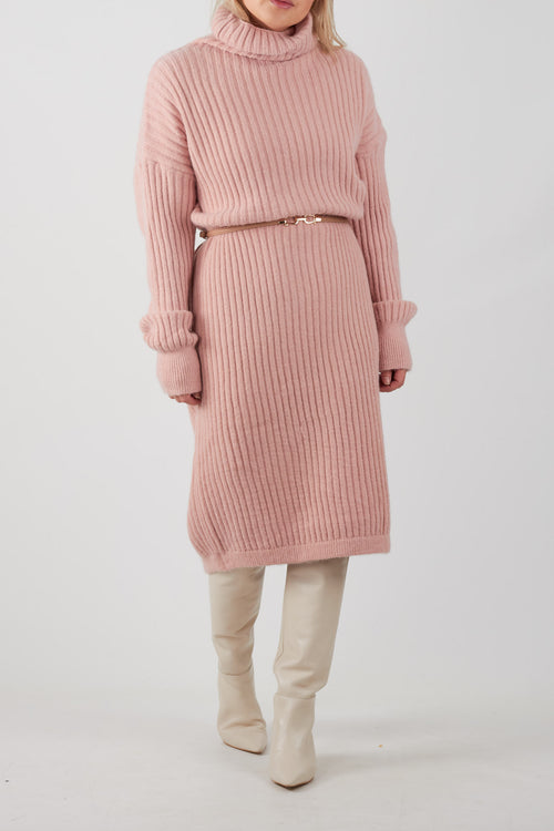 ANISTON KNIT DRESS