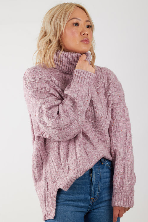 CODY KNIT- PURPLE
