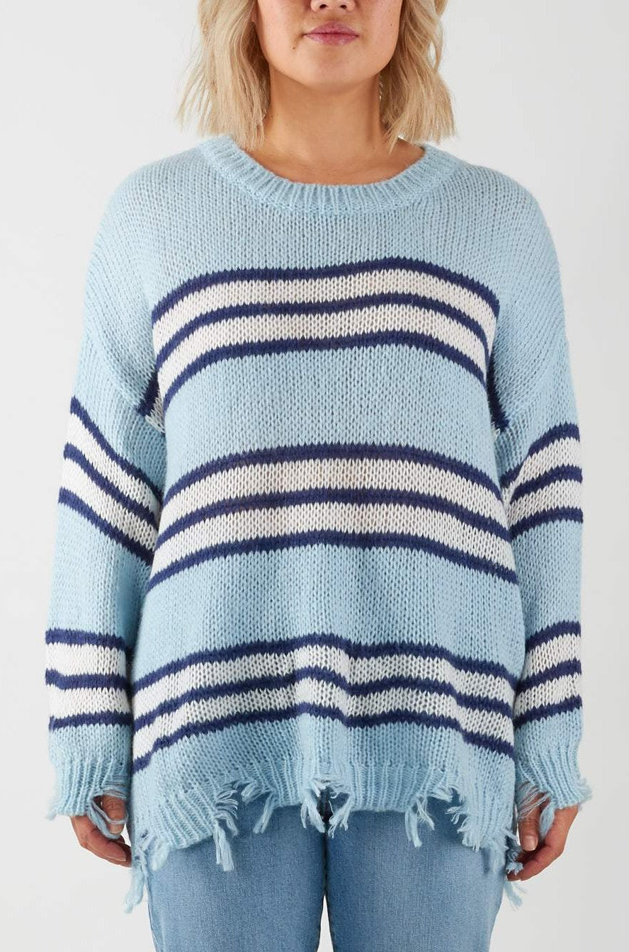 RUBY KNIT- BLUE