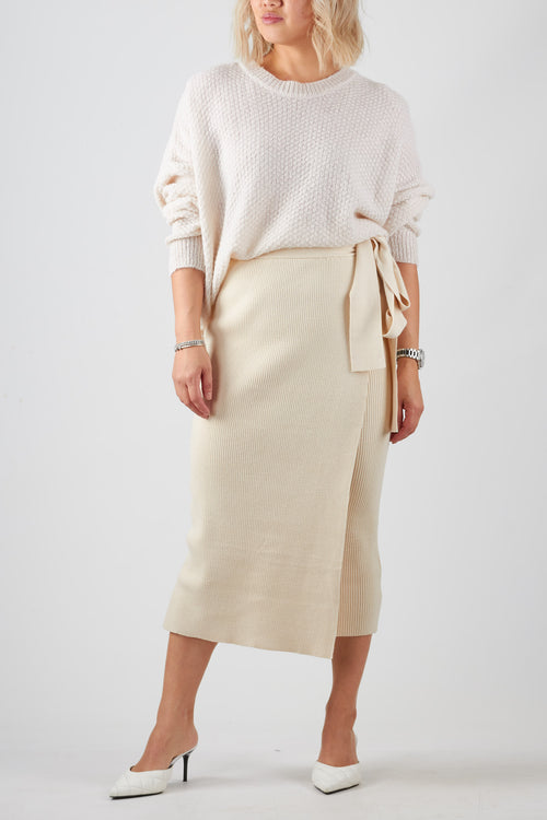 MIA SKIRT- CREAM