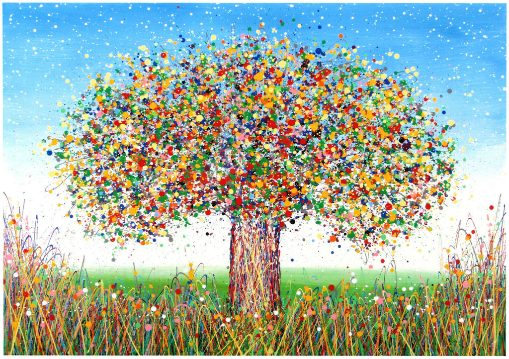 A New Tree Painting with a Difference!