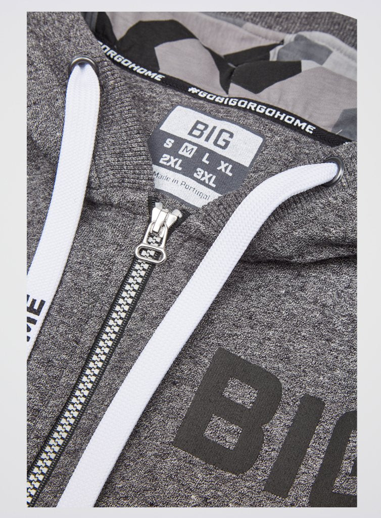 BIG Zip Up Hoodie
