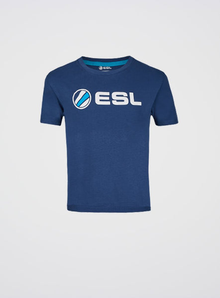 ESL Basic T-Shirt Kids Blue