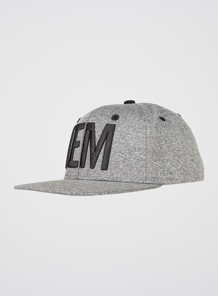 IEM Snapback Cap Heather Grey