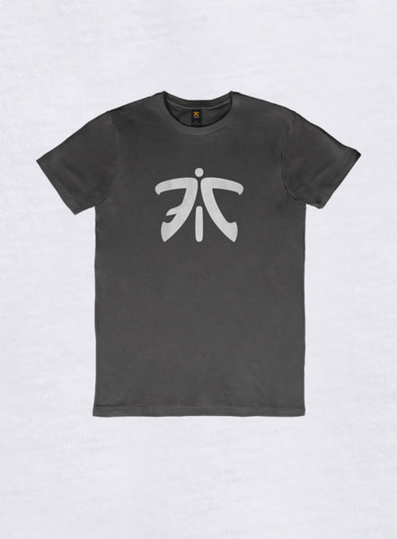 Fnatic Ess Logo T-Shirt Antracytowy