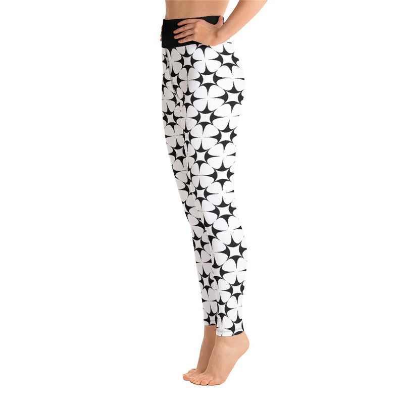 Premium Yoga Leggings - Lovely Lotus - EnvivaCor