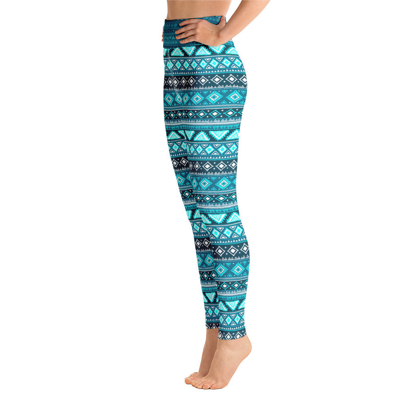 Premium Yoga Leggings AZURE - EnvivaCor