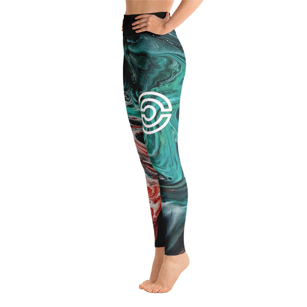 Premium Yoga Leggings - Mars Virtus