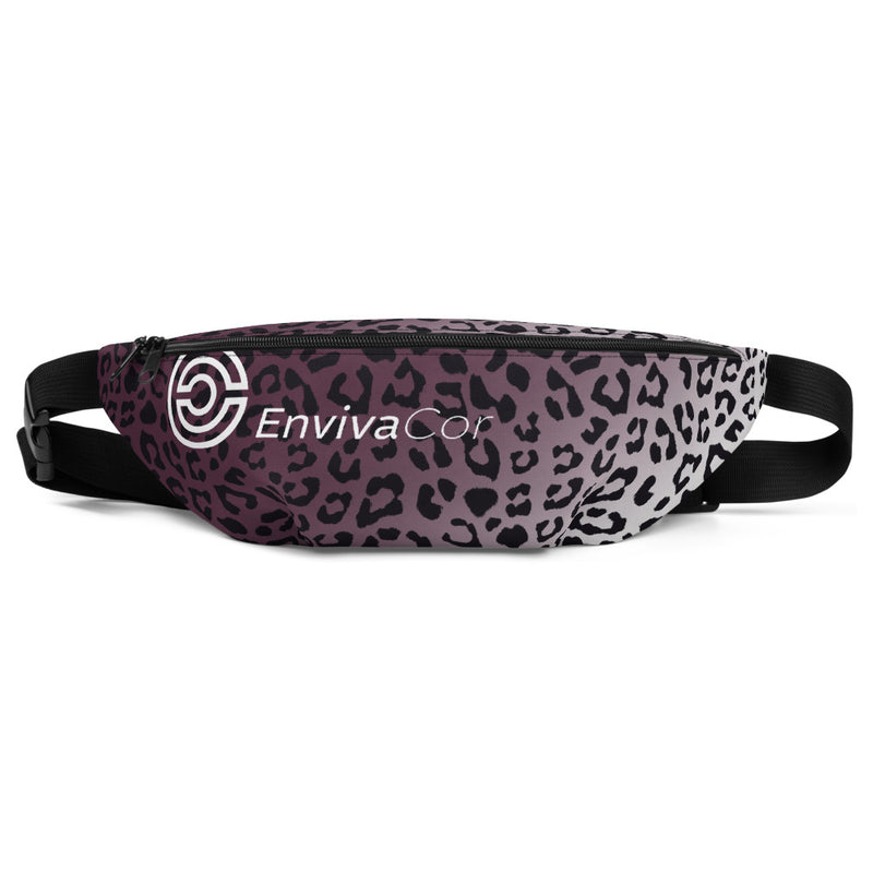 Premium Fanny Pack  PURPLE LEOPARD - EnvivaCor