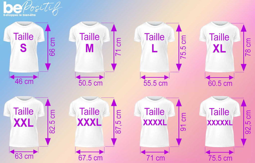 Taille tshirt