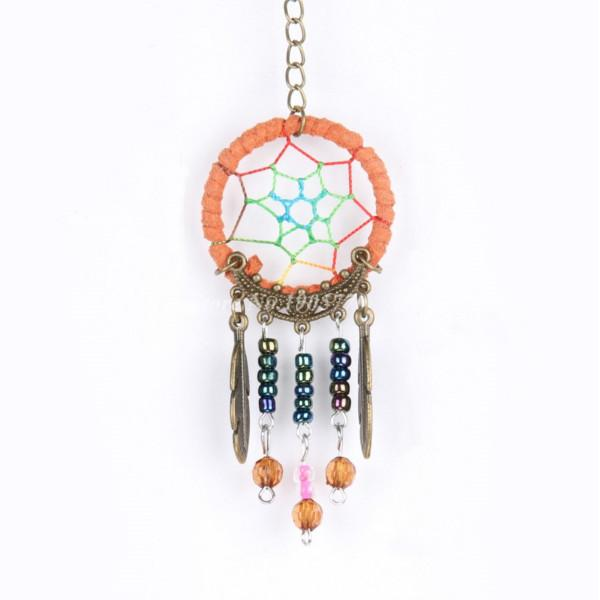 Feng Shui - MINI DreamCatcher ou Attrape Rêves - 3,5x8 cm