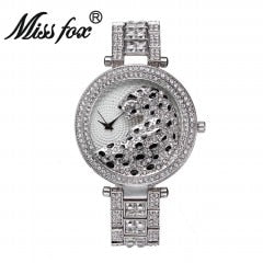 "39.5mm ""Miss Fox"" Quarz Damen Armbanduhr"