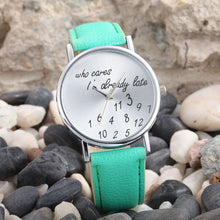 "Laden Sie das Bild in den Galerie-Viewer, 38mm ""Xiniu"" Quarz Damen Armbanduhr Already Late"