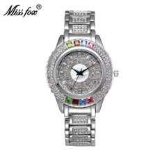 "Laden Sie das Bild in den Galerie-Viewer, 39mm ""MissFox Glamour"" Quarz Damen Armbanduhr"