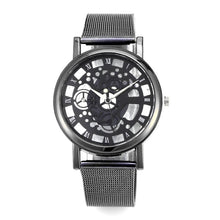 "Laden Sie das Bild in den Galerie-Viewer, 40mm ""JEANE CARTER"" Quarz Herren Skelett Armbanduhr"