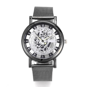 "40mm ""JEANE CARTER"" Quarz Herren Skelett Armbanduhr"
