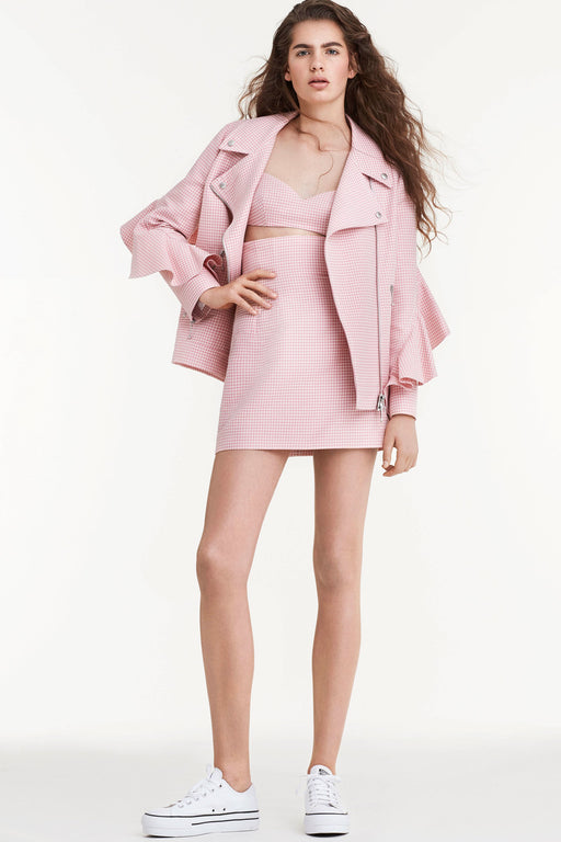 Jacket Rose Vichy