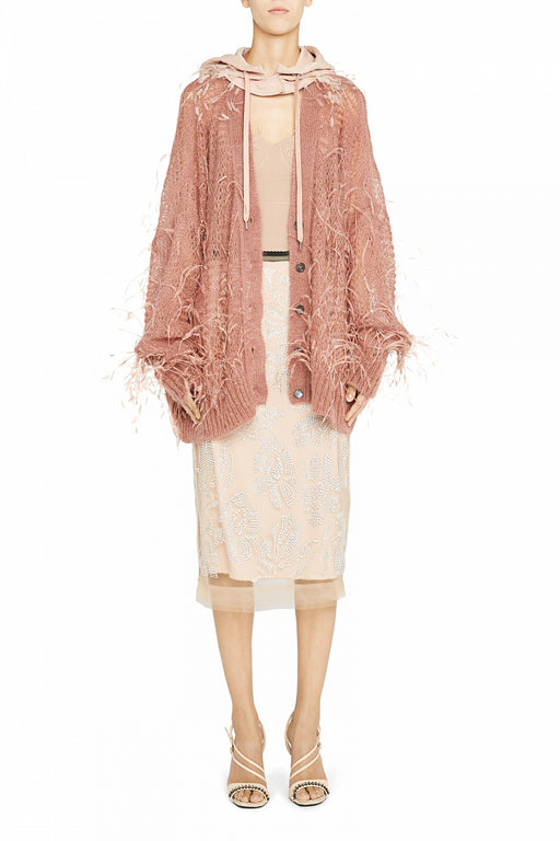 Cardigan Feather Blush