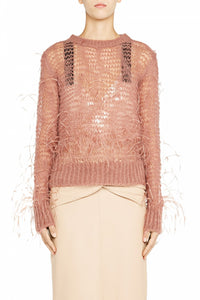 Pullover Feather Blush
