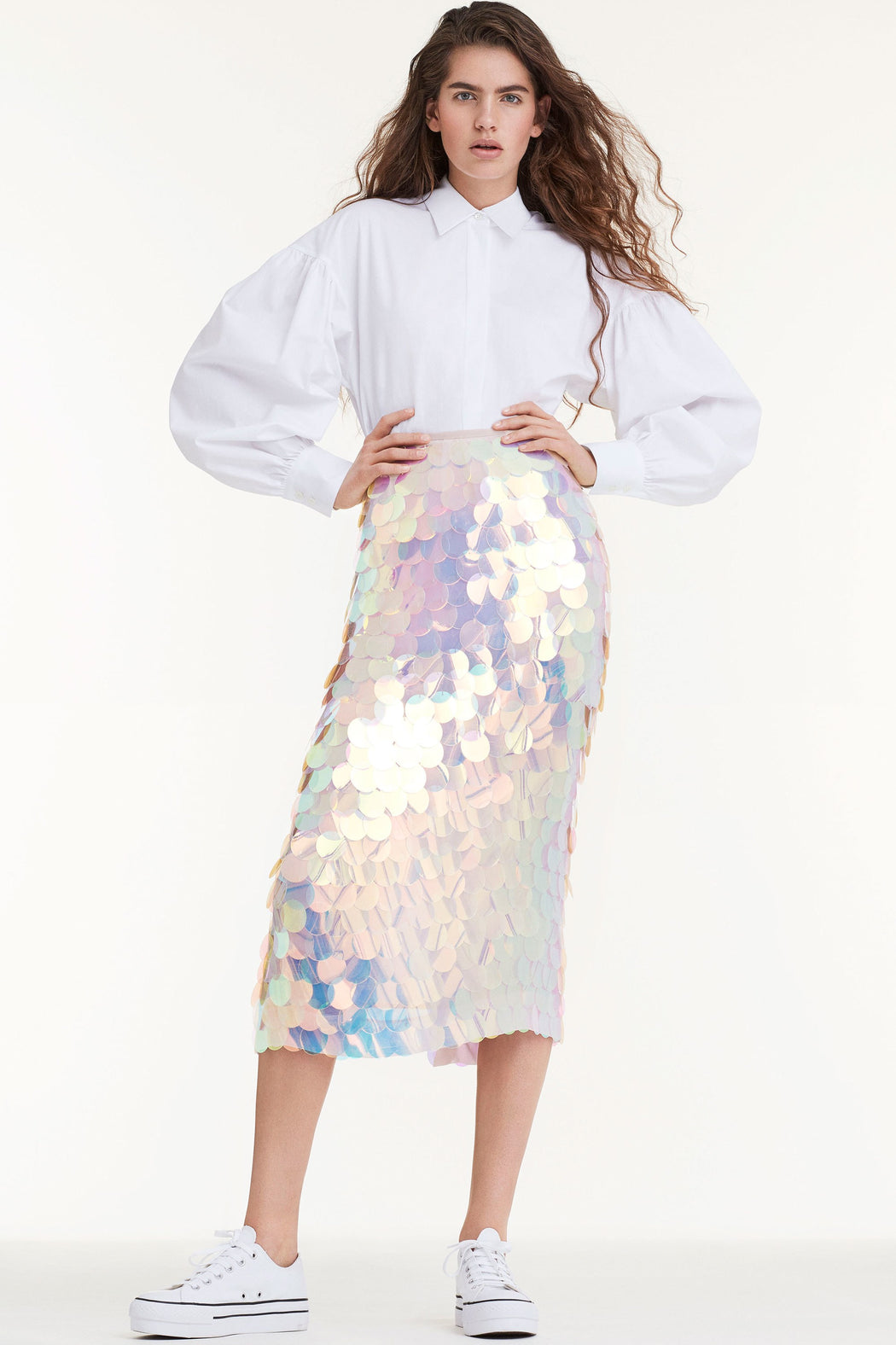 Skirt Holographic Sequin