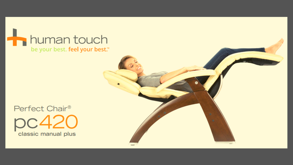 Human Touch - Perfect Chair® PC-420 Classic Manual Plus