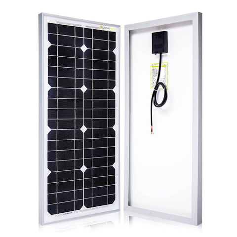 25 Watt 12 Volts Monocrystalline Solar Panel