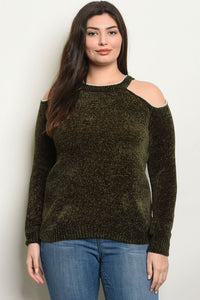 Womens Plus Size Sweater