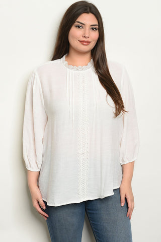 Womens Plus Size Top