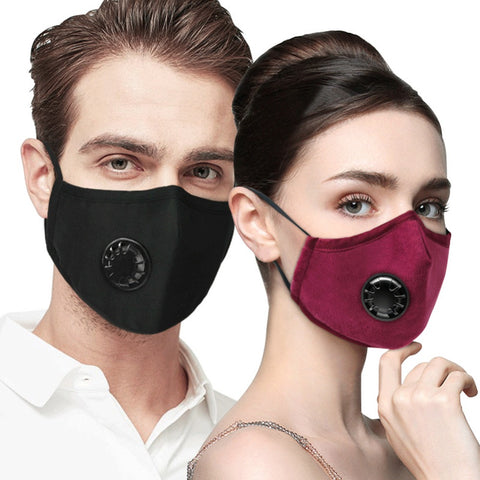 Reusable Cotton Mouth Face Mask Comfortable Anti-Dust Saliva Anti Haze Splash-Proof Filter Windproof PM2.5 Breathing Masks