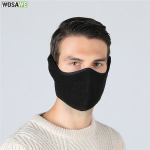 WOSAWE Motorcycle Winter Face Shield Thermal Keep Warm Face Protection Windproof Motocross Skiing Skating Snowboard Face Mask