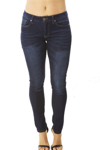 Ladies fashion fitted skinny jeans