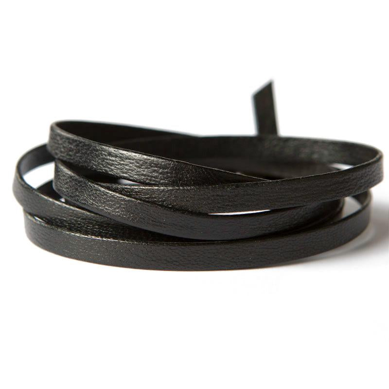 Black Leather Wrap