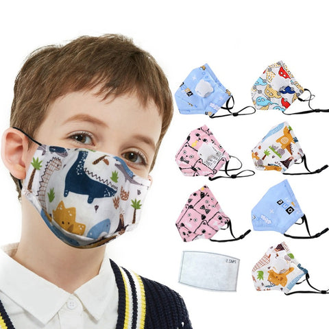 Children Mask Anti Dust Mouth Mask PM2.5 Kids Face Mask Personal Health Care Face Mask